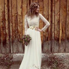Платье в стиле «Рустик» (41 фото): для гостей