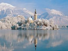 oh...this? its just a castle....on it's own island...in the middle of a beautiful lake. no bigs. Lake Bled