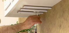 DIY Kitchen Cabinet Wine Glass Display Rack class