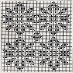 patrones de solomillo! Beading Patterns, Knitting Patterns, Crochet Patterns, Filet Crochet, Knit Crochet, Bargello Patterns, Cross Stitch Fruit, Chart Design, Repeating Patterns