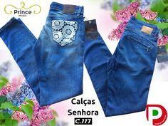 Calças ganga de Senhora da C.117 Jeans 🇵🇹 Preço 59 d9b071ef1c0