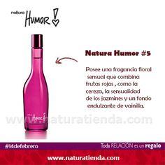Prueba la fragancia floral de Natura Humor #5 y despierta tus sentidos.  #NaturaTiendaOnline www.naturatienda.com
