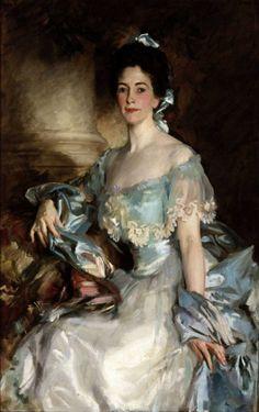 Mrs Abbott Lawrence Rotch - John Singer Sargent