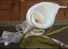 Passione di carta: Fiori di carta crespa - Crepe paper flowers