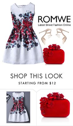 """Romwe contest"" by neyra11 ❤ liked on Polyvore featuring Jimmy Choo and Charlotte Russe"