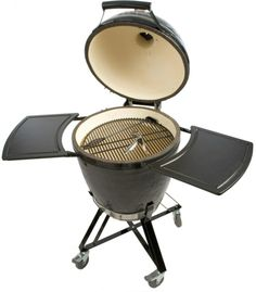Shop for Primo 773 Kamado All-in-One Ceramic Smoker Grill. Get free delivery On EVERYTHING* Overstock - Your Online Garden & Patio Store! Charcoal Smoker, Charcoal Bbq, Ceramic Smoker, Cooking Whole Chicken, Kamado Grill, Bbq Grill, Outdoor Cooking, Outdoor Kitchens, All In One