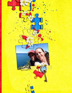 WeFitTogether by ArmyGrl using The Urban Fairy's Puzzle Autism.