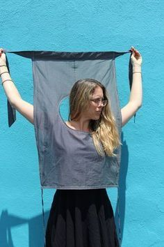 How to make the vintage wrap shirt from a set of LIFE photos