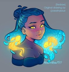 I've joined the 's version! An amazing artist . Art Style Challenge, Drawing Challenge, Cute Art Styles, Black Girl Art, Digital Art Girl, Magic Art, People Art, Pretty Art, Animation