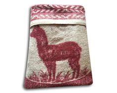 Unique Vintage Antique Alpaca Large Wool Blanket | Finer than cashmere, stronger than mohair, softer than cotton, and resistant to pilling, making it almost a dream textile; small handwoven piece from the of Peru made from  alpaca and sheep's wool. It folded in half as a shawl over the shoulders and fastened with a pin in front. SHOP https://www.etsy.com/listing/260113498/unique-vintage-antique-alpaca-large-wool?utm_source=Pinterest&utm_medium=PageTools&utm_campaign=Share