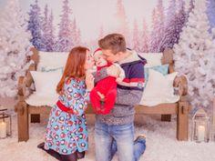 Lovely Christmas Family Portrait
