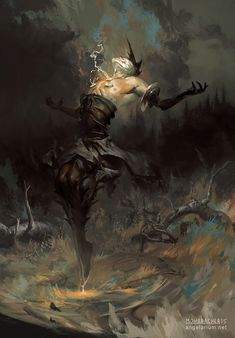 Peter Mohrbacher is an artist whom has come from the video game and concept art industriesand since gone rogue doing a passion project of his very own. His work finds inspiration from multiple angel mythologies which he first stumbled across in 2005. It's safe to say that Peter hasn't looked back since and in doing so unleashes the mesmerizing body of work he calls Angelarium.