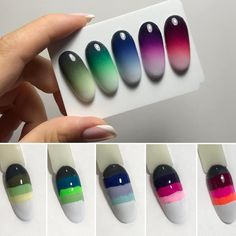 Nails gel ombre nailart ideas for 2019 Nail Art Diy, Diy Nails, Cute Nails, Ombre Nail Art, Nail Nail, Nail Drawing, Nail Art Techniques, Nagel Gel, Perfect Nails