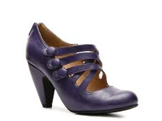 Can't get much more fun with your shoes than choosing purple ones! Crown Vintage Scout Pump | DSW