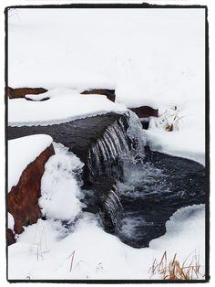 Snow Creek Wyoming