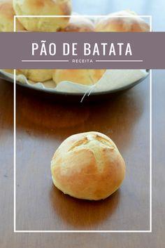 receita de pão de batata fácil e rápido Bread And Pastries, Bread Recipes, Cooking Recipes, Kitchen Time, Bread Cake, Savory Snacks, Bread Rolls, Food Inspiration, Brunch
