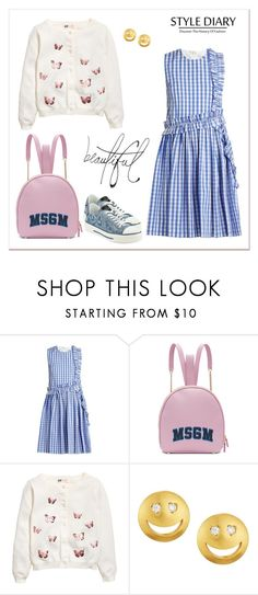 """""""RCC 4.10"""" by vandinha2010 ❤ liked on Polyvore featuring MSGM, Tai, Valentino and Bellagio"""