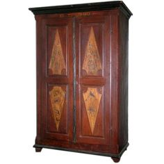 Wedding Cabinet Dated with Original Paint
