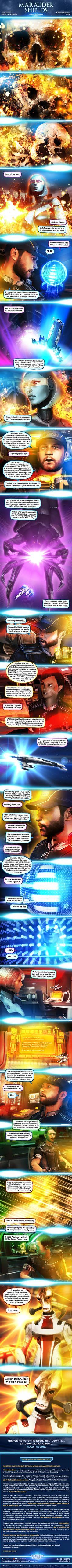 Marauder Shields 28: Signals (Mass Effect) by *koobismo on deviantART