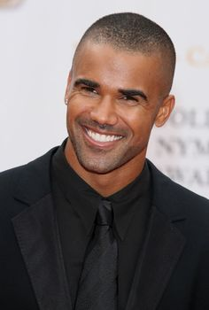 Shemar Moore & that smile... :)                                                                                                                                                      More