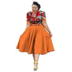 Online Shop Plus Size Clothing 2018 summer Dress African Print Dress Dashiki For Women Bazin Riche Vestidos Femme Dress Plus Size BRW African Formal Dress, Short African Dresses, African Fashion Dresses, African Attire, African Wear, Kente Dress, Shweshwe Dresses, Plus Size Kleidung, African Print Fashion