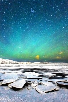 Northern light at Kleifarvatn, Iceland, by Suppalak Klabdee, on 500px.