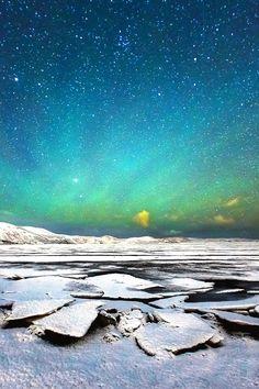 Northern light at Kleifarvatn, Iceland, by Suppalak Klabdee, on 500px.