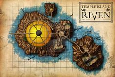 Riven--my favorite of the Myst series of games.  I have all my discovery notes and hope to play them all again--maybe this winter!