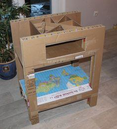 Je reprends tout doucement le chemin des cartons, après une grande période de manque de motivation ! Et puis d'un coup, l'évidence, j'ai besoin d'un meuble aux dimensions particulières, pas d'autres solutions que de le fabriquer moi-même ! Et comme c'est...
