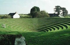 Gwennap pit in Cornwall, England  ~  a Methodist open air meeting place