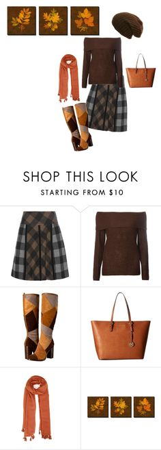 """Untitled #1960"" by sylviabunny ❤ liked on Polyvore featuring Etro, Dorothy Perkins, Frye, MICHAEL Michael Kors and Ally Fashion"