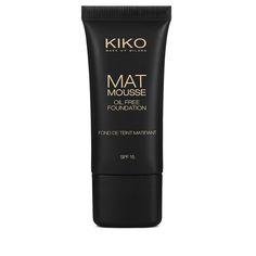 KIKO -- Mat Mousse Foundation _ 02 Light Rose