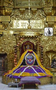 जय श्री सोमनाथ महादेव  ॐ त्र्यम्बकं यजामहे सुगन्धिं पुष्टिवर्धनम् । उर्वारुकमिव बन्धनान्मृत्योर्मुक्षीय माऽमृतात् || जय श्री सोमनाथ ज्योतिर्लिन्... - U Dai - Google+ Kali Shiva, Lord Shiva, My Lord, Hinduism, Ganesha, Temple, God, Abstract, Dios