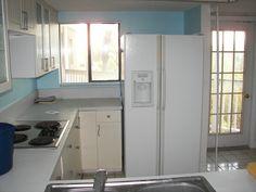 Kitchen - Renovation in Progress - Old Refrigerator