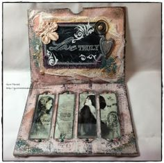 We have a new challenge for you on StampArtic today. We want you to use something old or recycled or both on your project. This sounds. Journal Paper, Something Old, Paper Dolls, Recycling, Decorative Boxes, Challenge, Projects, Cards, Blog