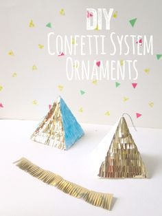 And look at that. Someone's already made a #DIY tutorial for @elise West elm's Confetti ornaments! #calledit
