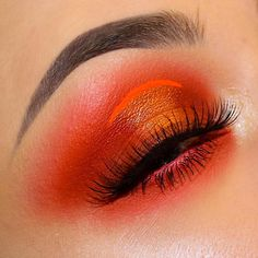 "3,648 Likes, 76 Comments - Laura (@laurabrady_mua) on Instagram: ""Orange Soda  . PRODUCTS . ▪Suburbia, Flamepoint and Diamond Eyes Eyeshadows @sugarpill . ▪Apex…"""