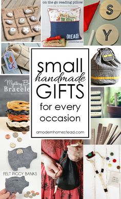 Small handmade gifts for all occasions! Easy and meaningful, I'm definitely … Small handmade gifts for all occasions! Easy and meaningful, I'm definitely making a few of these instead of buying junk this year! Diy Holiday Gifts, Handmade Christmas Gifts, Christmas Diy, Easy Handmade Gifts, Last Minute Christmas Gifts Diy, Homemade Gifts For Christmas, Small Christmas Gifts, Inexpensive Christmas Gifts, Christmas Items