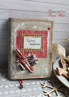 Кулинарная книга и С НОВЫМ ГОДОМ!!! - Скрапбукинг (бумажный) - Babyblog.ru