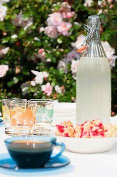 Ꮆästɧusɛt ι ℛσsℓagɛŋs skärgårɖ är ɛŋ rιktιg ℓιtɛŋ pärℓa: På uteplatsen intill gäststugan bjuds det på kaffe eller hemmagjord flädersaft till den nybakade rödavinbärskakan. I augusti, när alla semesterfirare letar sig hemåt, blir den lilla köksbänken i marmeladboden ledig för Annes eget pyssel igen. Då åker glasburkar, som ska fyllas med hemkokt plommonchutney och krusbärsmarmelad, fram. Det lilla huset gör skäl för sitt namn.