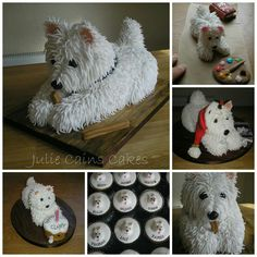 Westie Cakes....   from a FB account