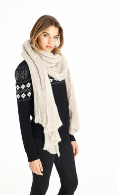 Find sheer, soft bliss in this Suss scarf today!