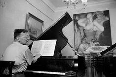 Magnum Photos -  Nicolas Tikhomiroff // Dmitri CHOSTAKOVITCH, composer. 1957