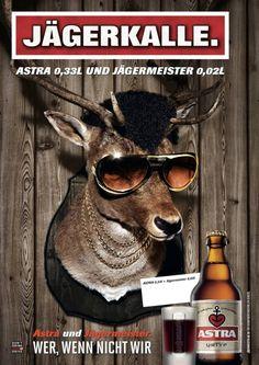 Astra 0,33 L Jägermeister 0,02 L