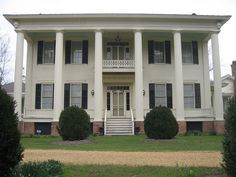 Belvoir, also known as the Saffold Plantation, is a historic plantation & plantation house near Pleasant Hill, Alabama. The Greek Revival-style house features a Carolina-type, hexastyle portico with Doric columns. Belvoir was established as a cotton plantation in 1825 by Reuben Saffold II.  Architectural historians usually date it to the early to mid-1850s, due to stylistic elements found in its architecture.