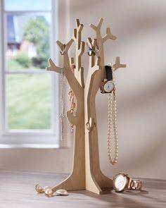 Schmuck-Baum (natur) - Aufbewahrung & Ordnung - Für alle Räume - Dänisches Bettenlager