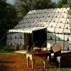 Alojarse en una Jaima en Benissa, en el Refugio de Marnes