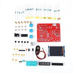 DIY GM328 Transistor Tester Frequency Diode Cap LCR ESR Volt Freq Meter PWM Square Wave Signal Generator