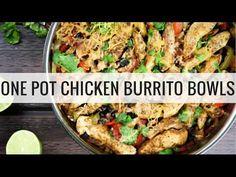 Chicken Burrito Bowls - Slender Kitchen