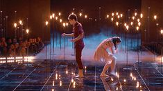 sean lew and kaycee rice Sean Lew, Gif Dance, 1 Gif, Hands Together, Partner Dance, Dance Stuff, Workout Warm Up, The Next Step, Dance Company